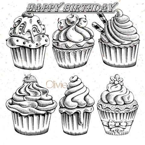 Happy Birthday Cake for Olivie