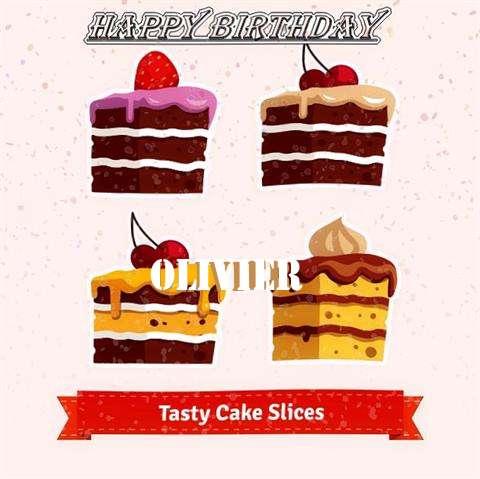 Happy Birthday Olivier Cake Image