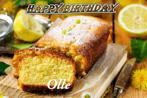 Happy Birthday Cake for Olle