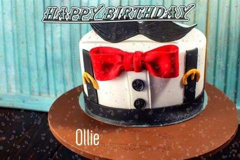 Happy Birthday Cake for Ollie