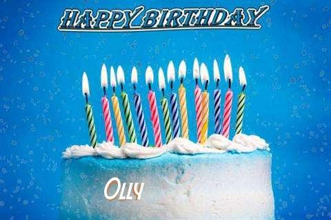 Happy Birthday Cake for Olly