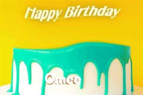 Happy Birthday Omee Cake Image
