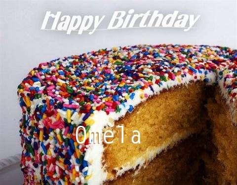 Happy Birthday Wishes for Omela