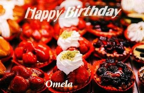 Happy Birthday Cake for Omela