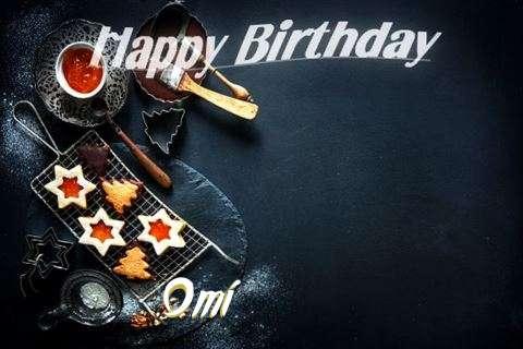 Happy Birthday Omi Cake Image