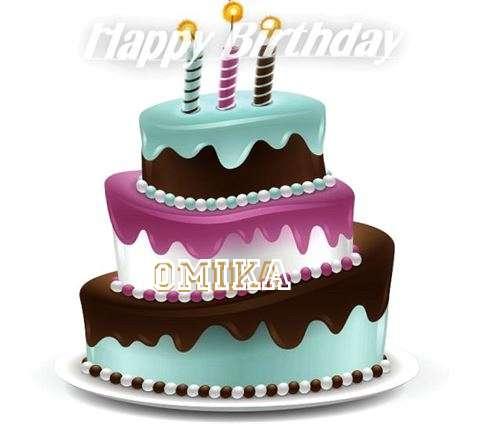 Happy Birthday to You Omika