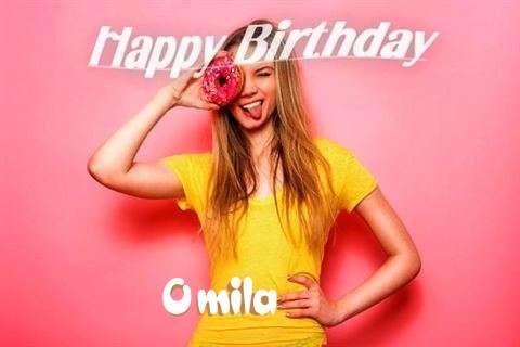 Happy Birthday to You Omila