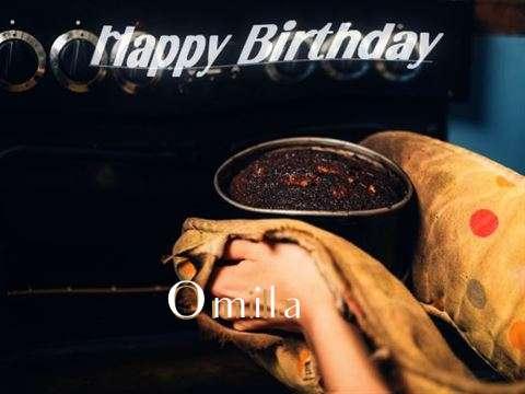 Happy Birthday Cake for Omila