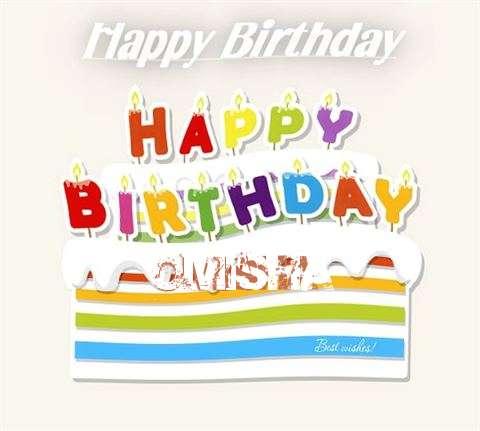 Happy Birthday Wishes for Omisha