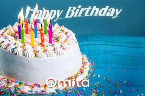 Happy Birthday Wishes for Omita