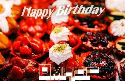 Happy Birthday Cake for Omkar