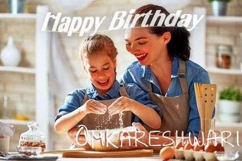 Birthday Wishes with Images of Omkareshwari