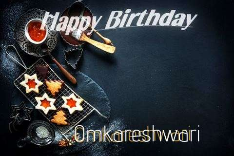 Happy Birthday Omkareshwari Cake Image