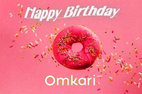 Happy Birthday Cake for Omkari