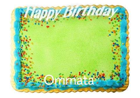 Happy Birthday Ommata Cake Image