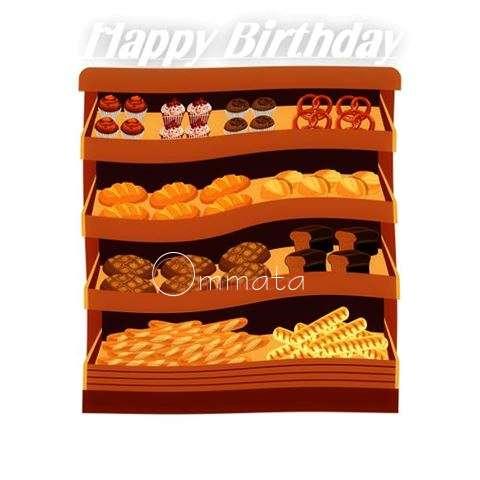 Happy Birthday Cake for Ommata