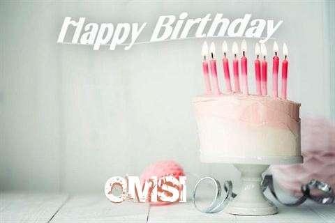 Happy Birthday Omsi Cake Image