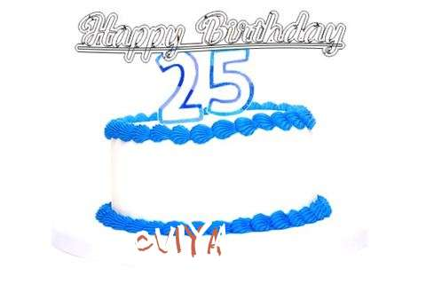 Happy Birthday Oviya Cake Image