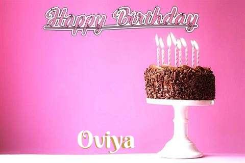 Happy Birthday Cake for Oviya