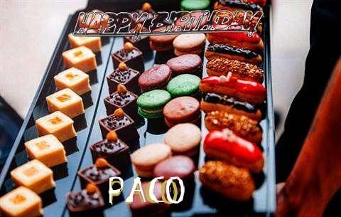 Happy Birthday Paco