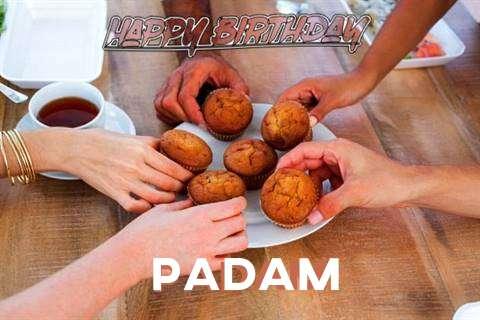 Happy Birthday Wishes for Padam