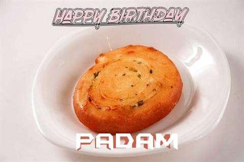 Happy Birthday Cake for Padam