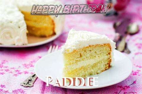 Happy Birthday to You Paddie