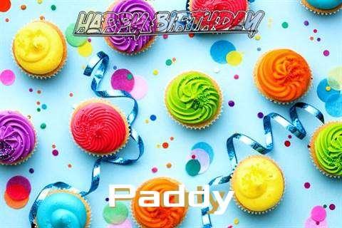 Happy Birthday Cake for Paddy