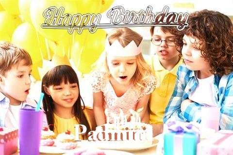 Happy Birthday to You Padmini