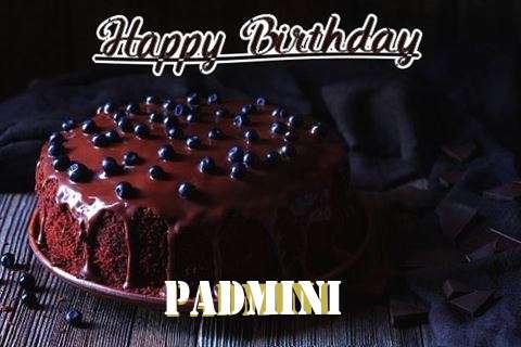 Happy Birthday Cake for Padmini