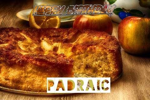 Happy Birthday Wishes for Padraic