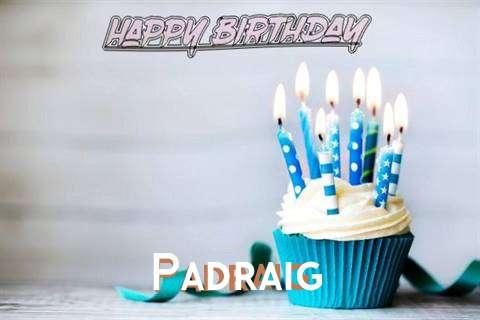 Happy Birthday Padraig Cake Image