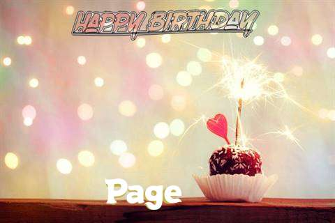 Page Birthday Celebration