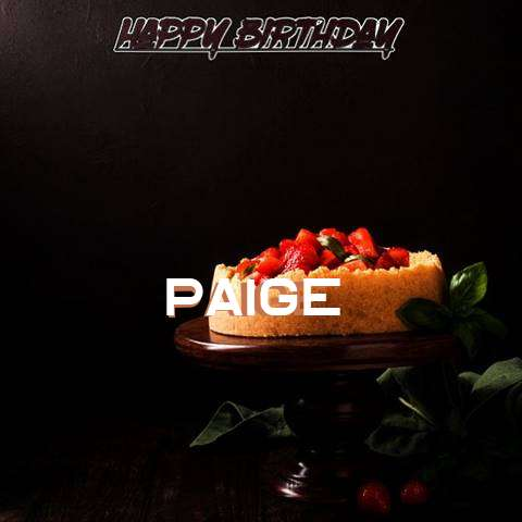 Paige Birthday Celebration