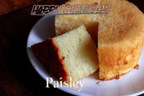 Happy Birthday to You Paisley