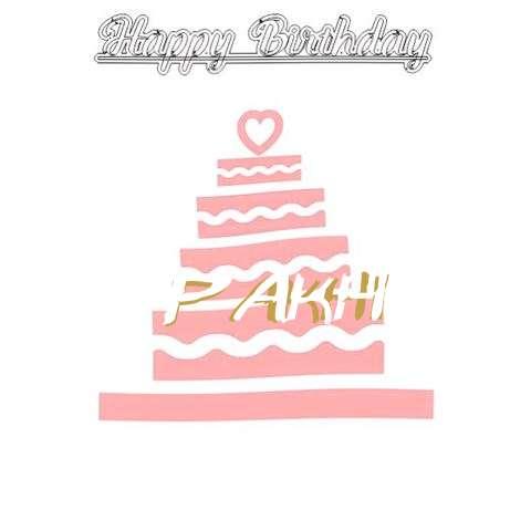 Happy Birthday Pakhi Cake Image