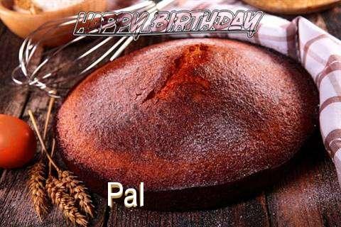 Happy Birthday Pal Cake Image