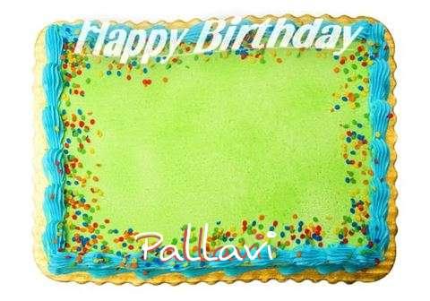 Happy Birthday Pallavi Cake Image