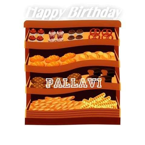 Happy Birthday Cake for Pallavi