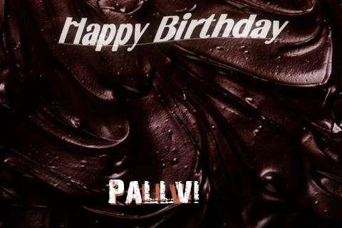 Happy Birthday Pallvi Cake Image