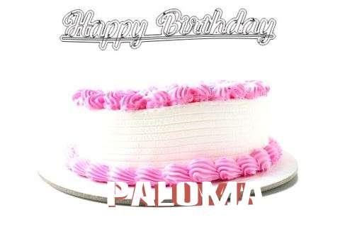 Happy Birthday Wishes for Paloma