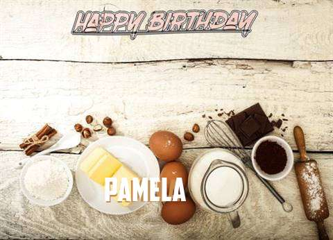 Happy Birthday Pamela Cake Image