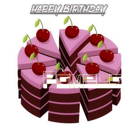 Happy Birthday Cake for Pamela