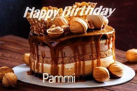 Happy Birthday Wishes for Pammi