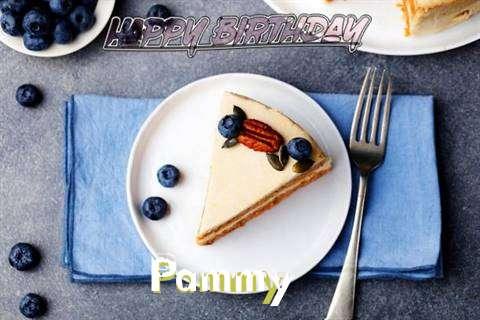 Happy Birthday Pammy Cake Image