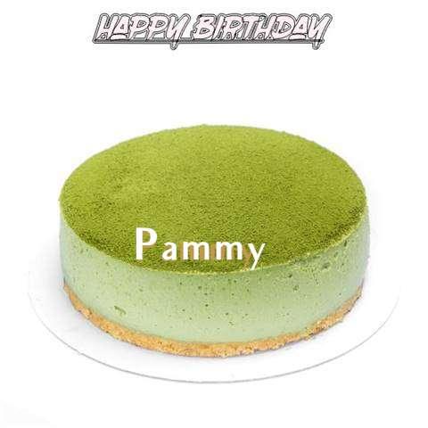 Happy Birthday Cake for Pammy