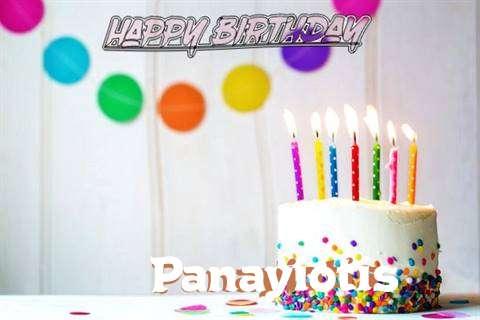 Happy Birthday Cake for Panayiotis