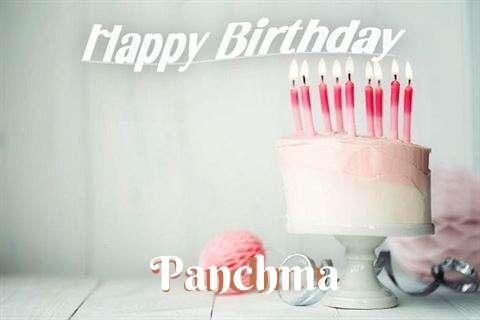 Happy Birthday Panchma Cake Image