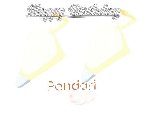 Birthday Wishes with Images of Pandari