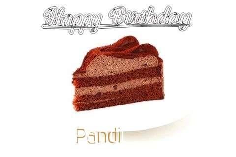 Happy Birthday Wishes for Pandi
